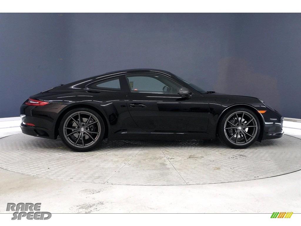 2019 911 Carrera T Coupe - Black / Black photo #13