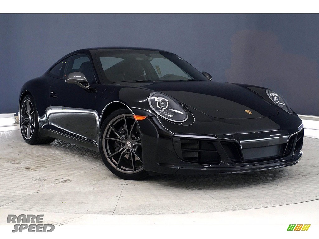 2019 911 Carrera T Coupe - Black / Black photo #32