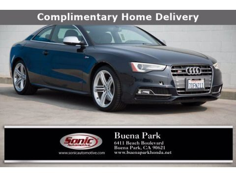Monsoon Gray Metallic 2014 Audi S5 3.0T Prestige quattro Coupe