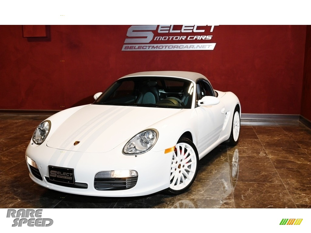 2008 Boxster S Limited Edition - Carrara White / Stone Grey photo #1