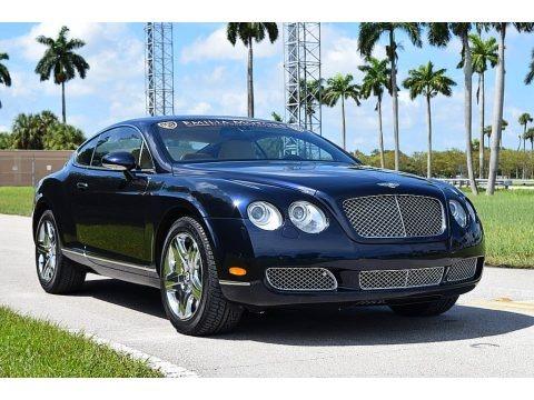 Dark Sapphire 2006 Bentley Continental GT