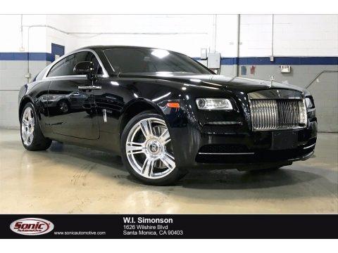 Diamond Black 2015 Rolls-Royce Wraith