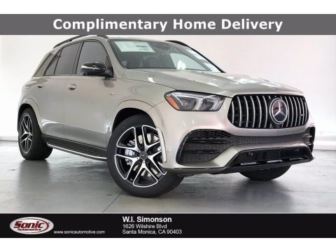 Mojave Silver Metallic 2021 Mercedes-Benz GLE 53 AMG 4Matic