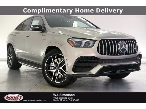 Mojave Silver Metallic 2021 Mercedes-Benz GLE 53 AMG 4Matic Coupe