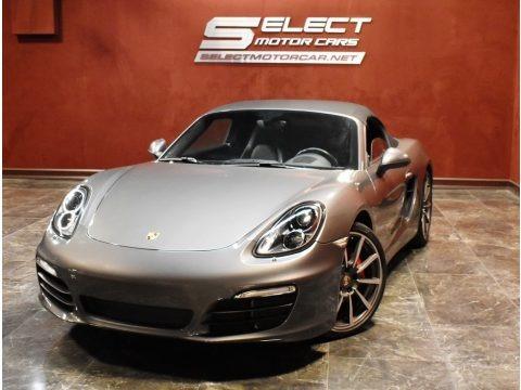 Agate Grey Metallic 2013 Porsche Boxster S
