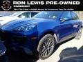 Porsche Macan S Sapphire Blue Metallic photo #1