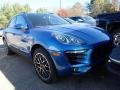 Porsche Macan S Sapphire Blue Metallic photo #2