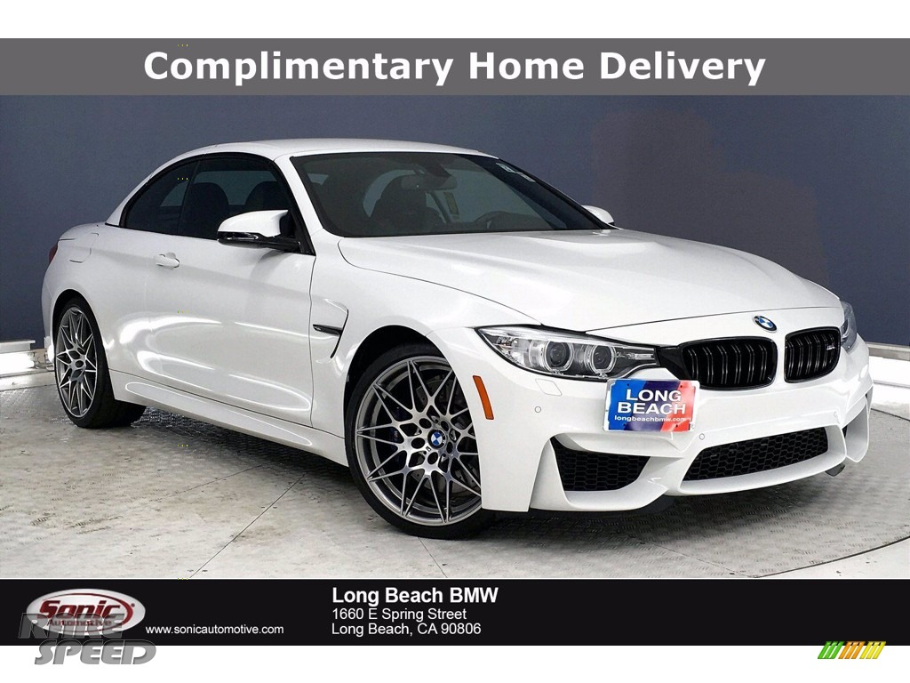 2017 M4 Convertible - Alpine White / Black photo #1
