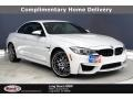 BMW M4 Convertible Alpine White photo #1