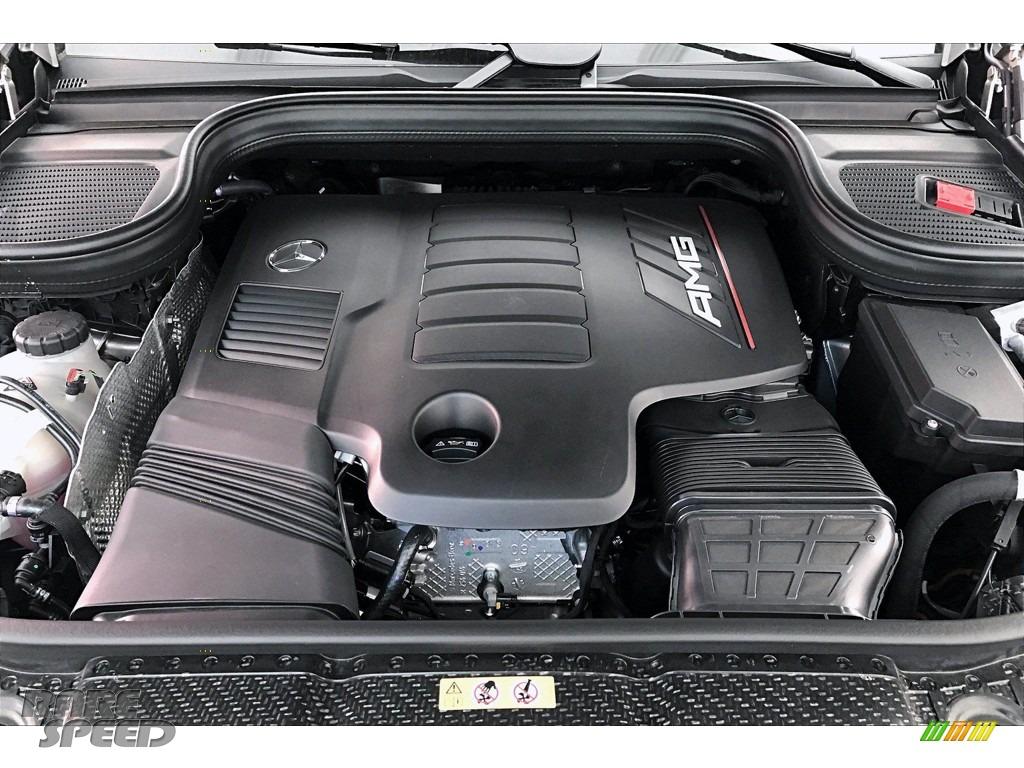 2021 GLE 53 AMG 4Matic - Mojave Silver Metallic / Black photo #8