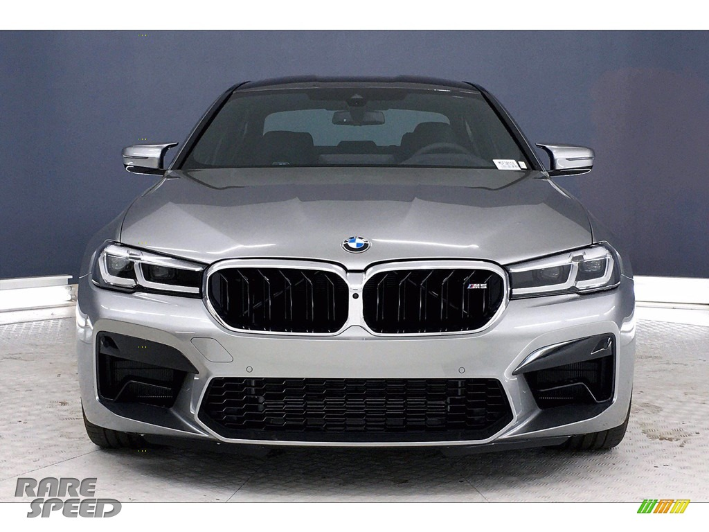 2021 M5 Sedan - Domington Grey Metallic / Black photo #2