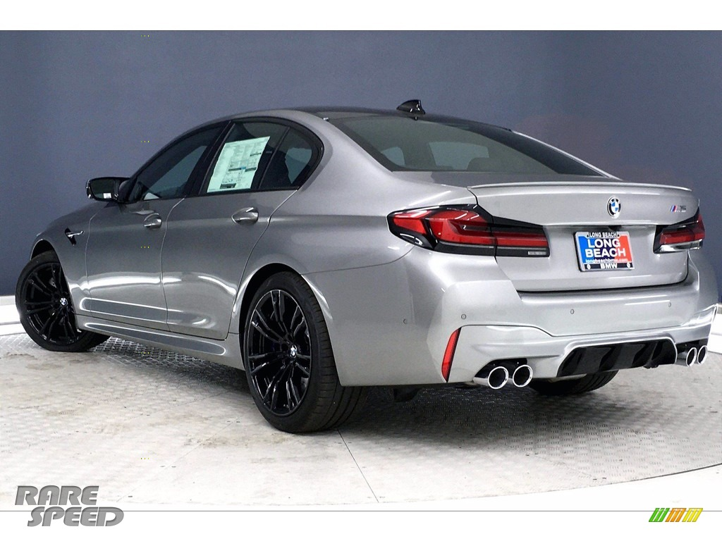 2021 M5 Sedan - Domington Grey Metallic / Black photo #3