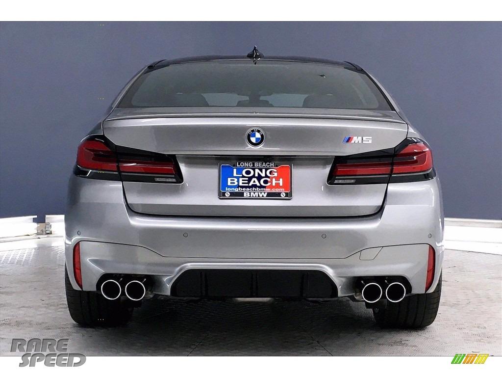 2021 M5 Sedan - Domington Grey Metallic / Black photo #4
