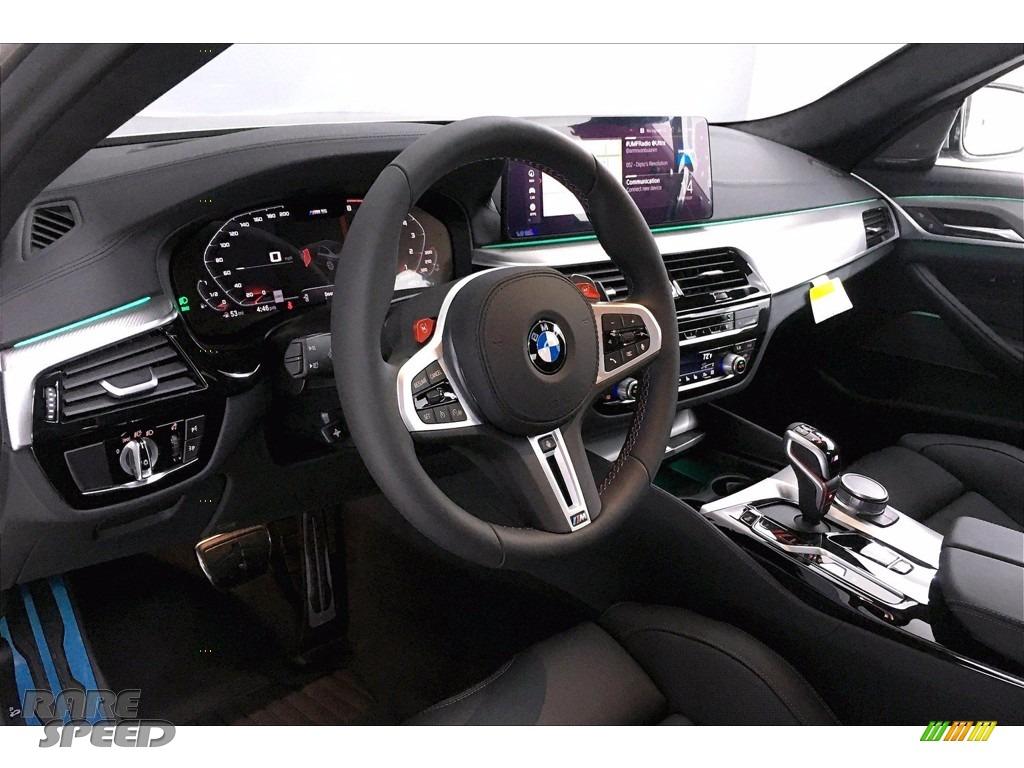 2021 M5 Sedan - Domington Grey Metallic / Black photo #7