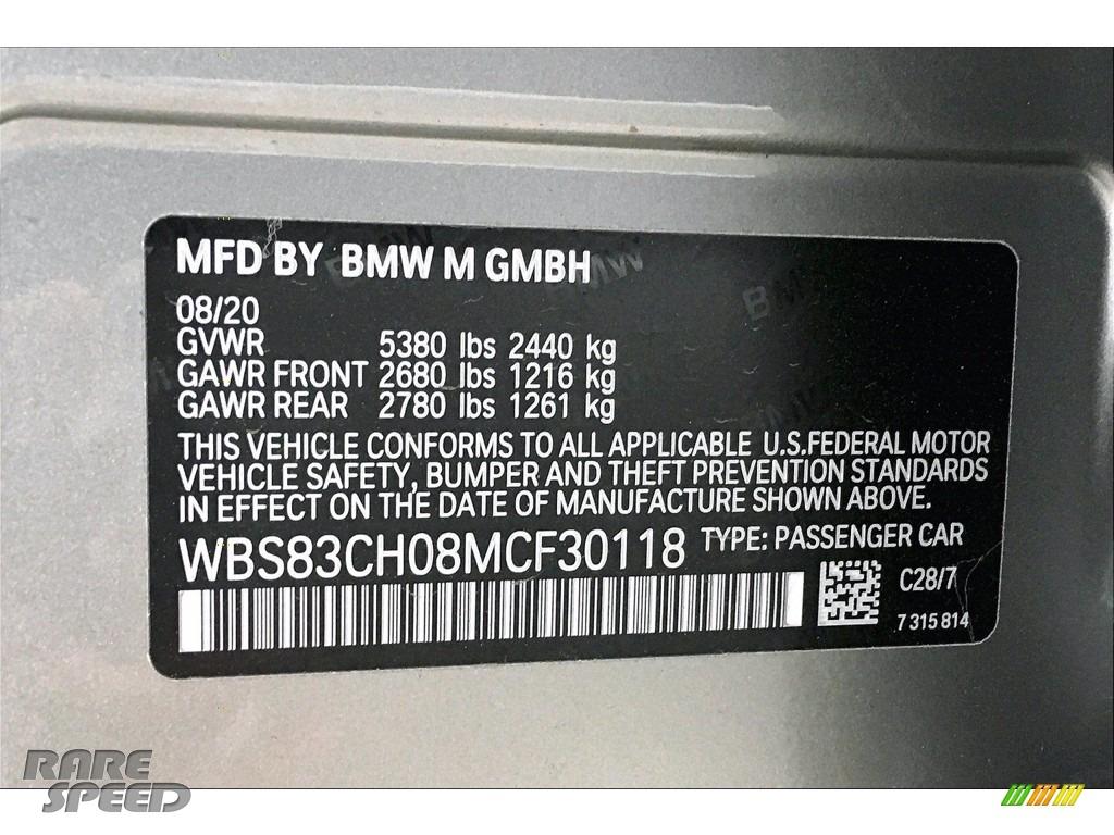 2021 M5 Sedan - Domington Grey Metallic / Black photo #18
