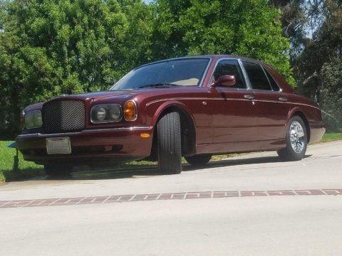 Dark Red 1999 Bentley Arnage