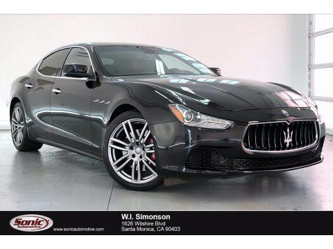 Nero (Black) 2016 Maserati Ghibli S