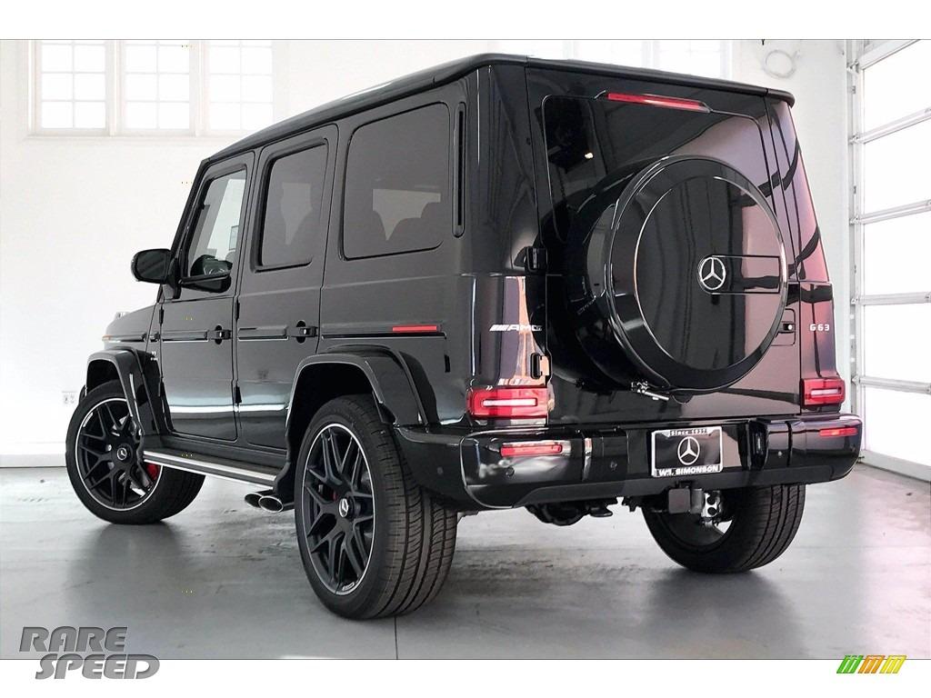 2021 G 63 AMG - Obsidian Black Metallic / designo Classic Red/Black photo #2