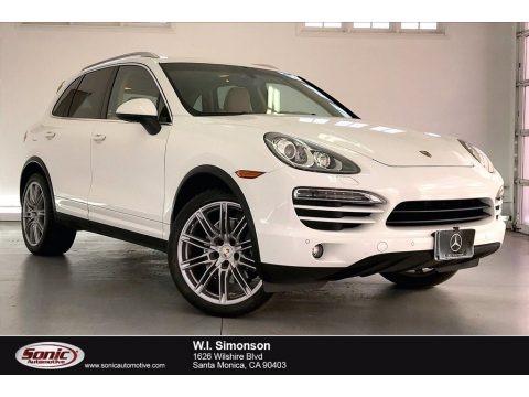 White 2013 Porsche Cayenne