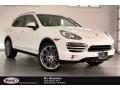 Porsche Cayenne  White photo #1