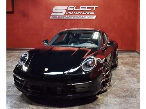 Black 2020 Porsche 911 Carrera 4S