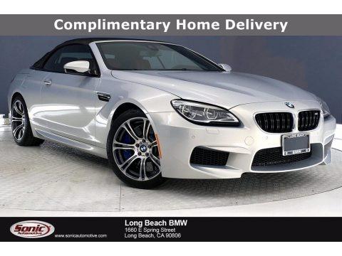Silverstone Metallic 2018 BMW M6 Convertible