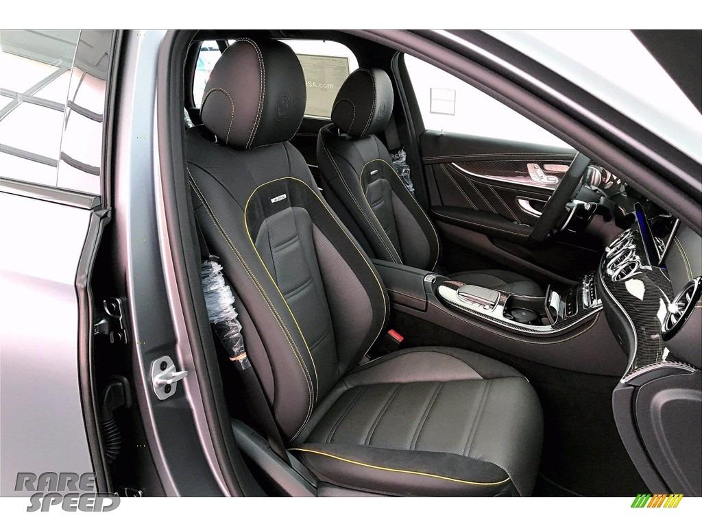 2021 E 63 AMG 4Matic Wagon - designo Selenite Grey Magno (Matte) / Titanium Grey/Black photo #5
