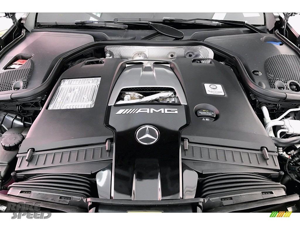 2021 E 63 AMG 4Matic Wagon - designo Selenite Grey Magno (Matte) / Titanium Grey/Black photo #8