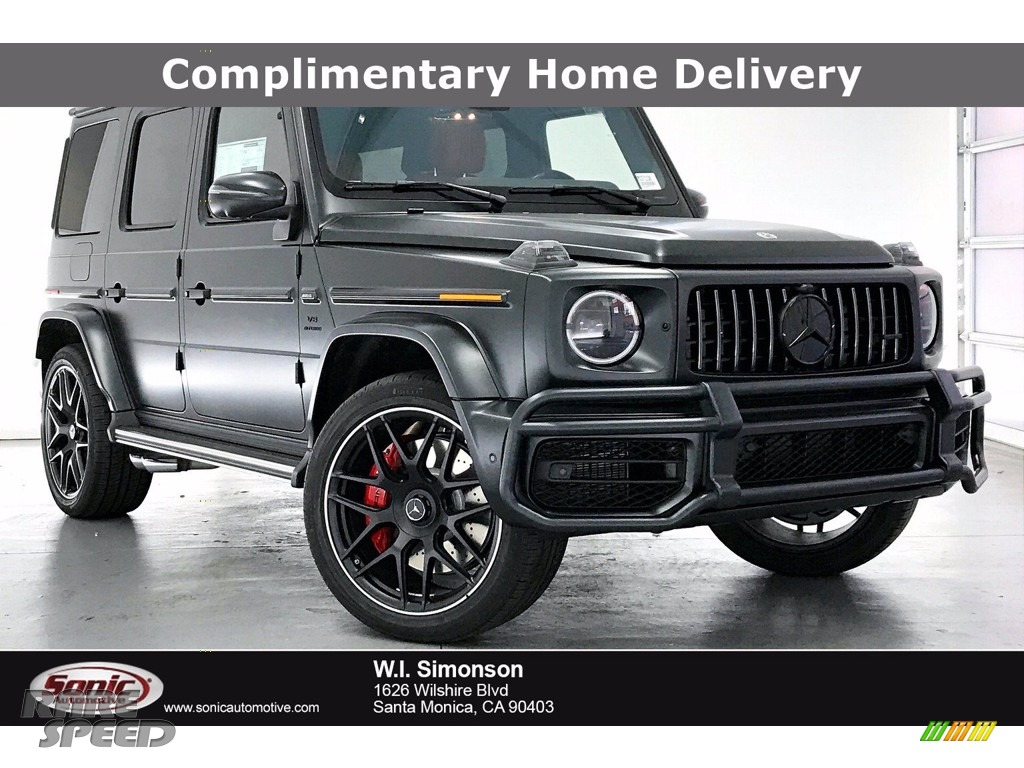 designo Night Black Magno (Matte) / Classic Red/Black Mercedes-Benz G 63 AMG