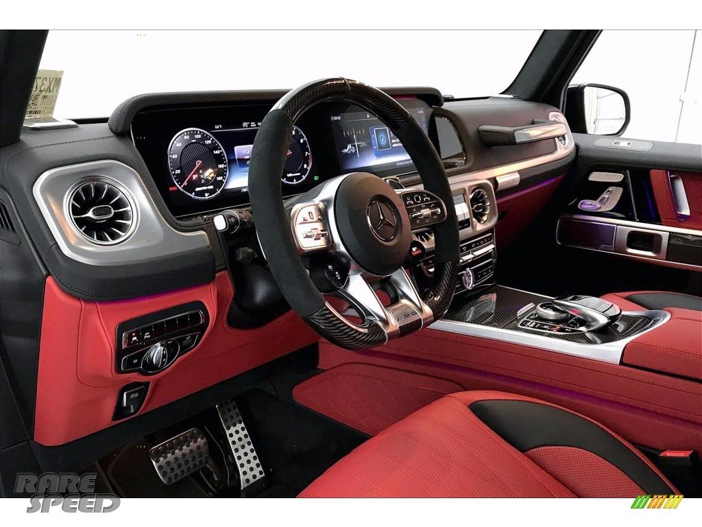 2021 G 63 AMG - designo Night Black Magno (Matte) / Classic Red/Black photo #4