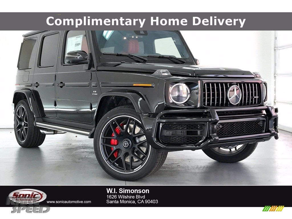 Obsidian Black Metallic / designo Classic Red/Black Mercedes-Benz G 63 AMG