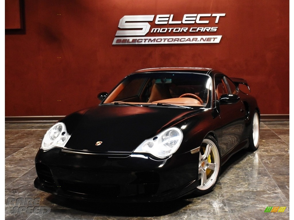 Black / Boxster Red Porsche 911 Turbo Coupe