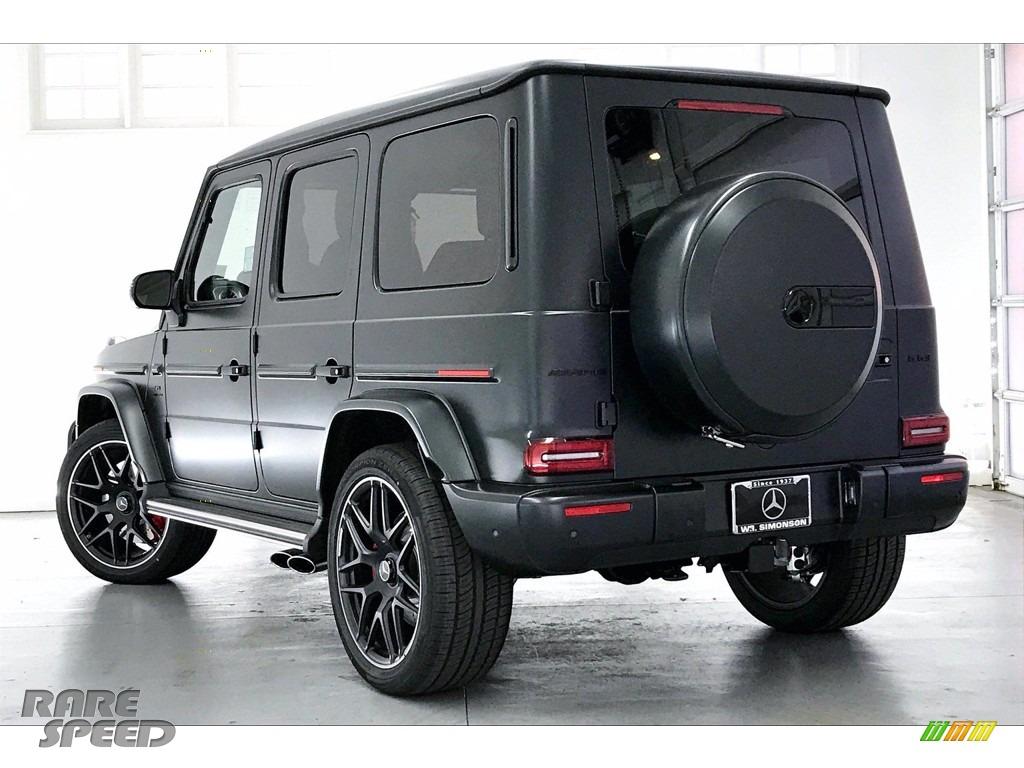 2021 G 63 AMG - designo Night Black Magno (Matte) / designo Classic Red/Black photo #2