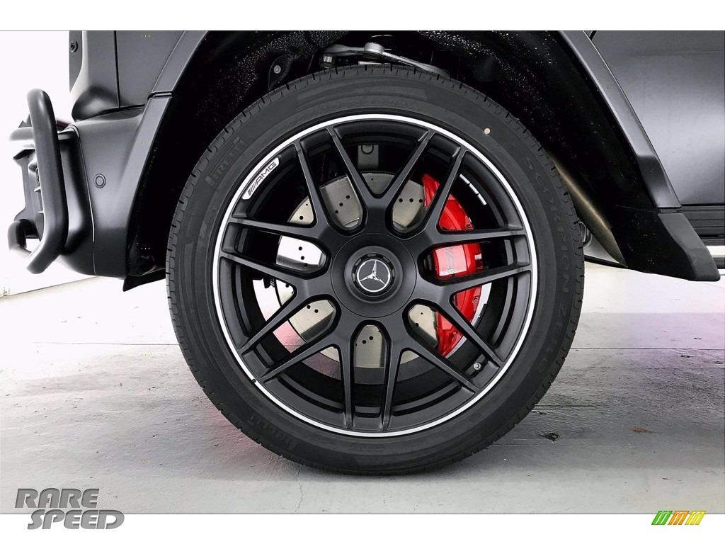 2021 G 63 AMG - designo Night Black Magno (Matte) / designo Classic Red/Black photo #9