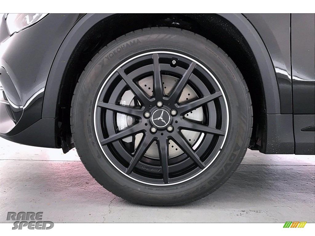 2021 GLA AMG 45 4Matic - Cosmos Black Metallic / Neva Grey/Black photo #9