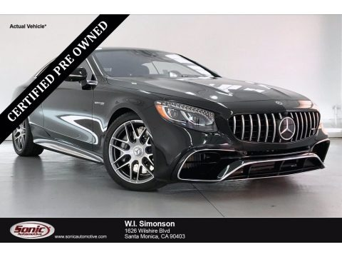 Black 2019 Mercedes-Benz S AMG 63 4Matic Coupe