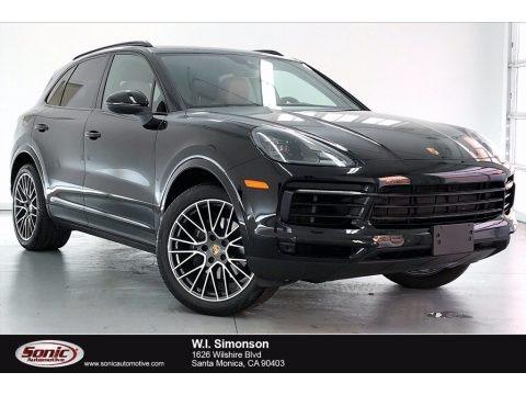 Jet Black Metallic 2020 Porsche Cayenne