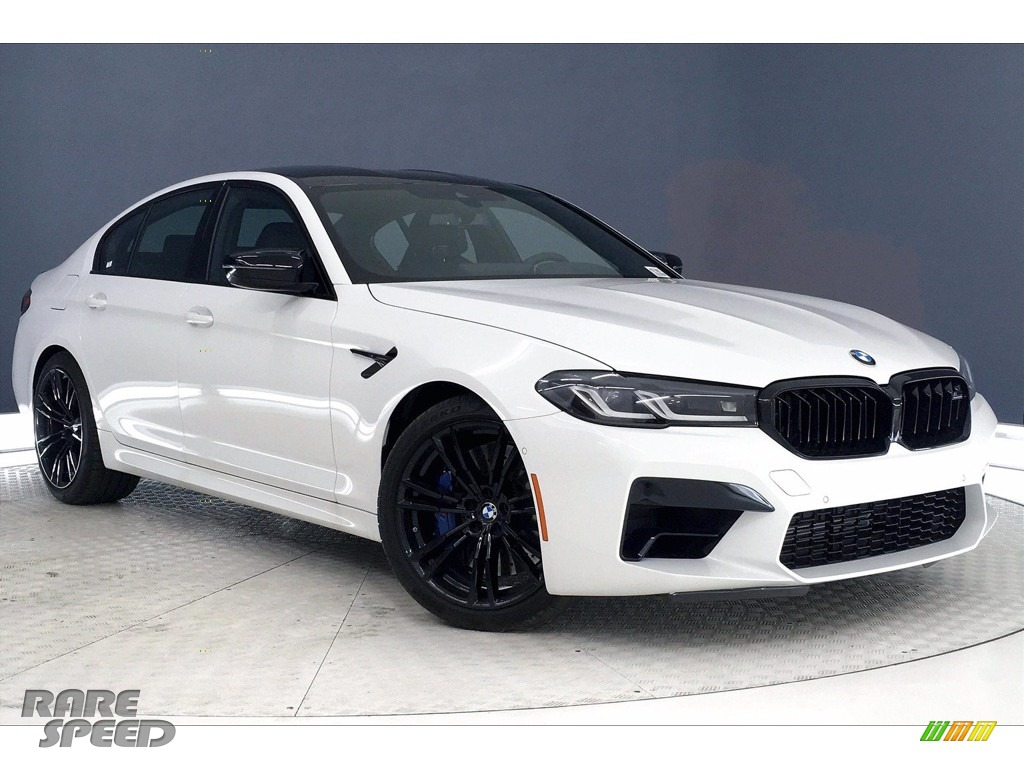 2021 M5 Sedan - Alpine White / Black photo #1