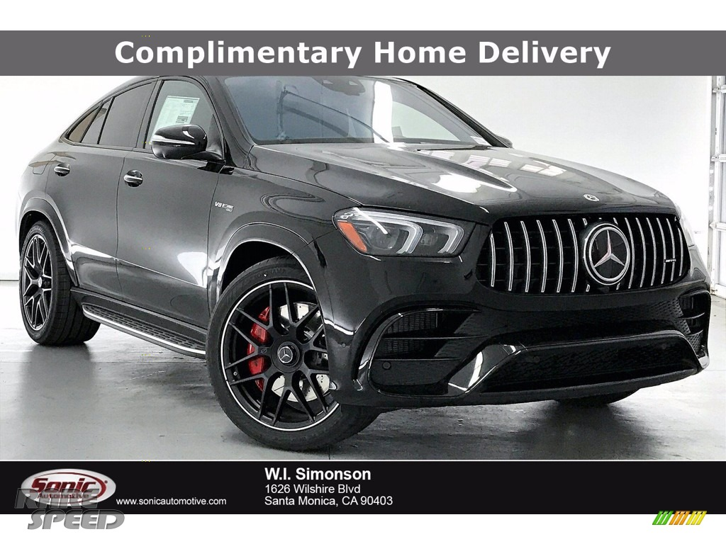 Obsidian Black Metallic / Classic Red/Black Mercedes-Benz GLE 63 S AMG 4Matic Coupe