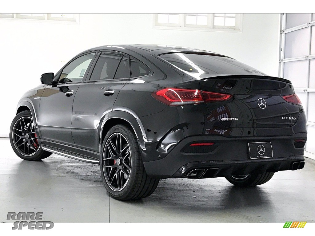 2021 GLE 63 S AMG 4Matic Coupe - Obsidian Black Metallic / Classic Red/Black photo #2
