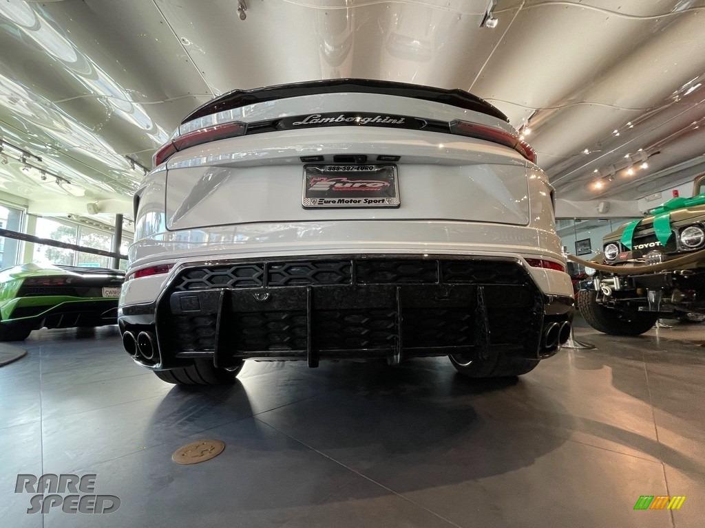 2020 Urus AWD - Bianco Icarus Metallic / Rosso Alala/Nero Ade photo #11