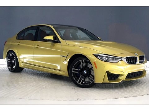 Austin Yellow Metallic 2018 BMW M3 Sedan