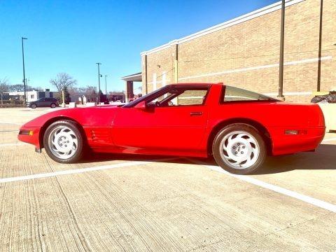 Bright Red 1991 Chevrolet Corvette ZR1
