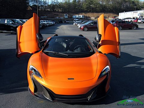 Tarocco Orange 2016 McLaren 650S Spider