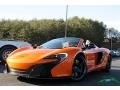 McLaren 650S Spider Tarocco Orange photo #2