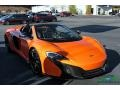 McLaren 650S Spider Tarocco Orange photo #8