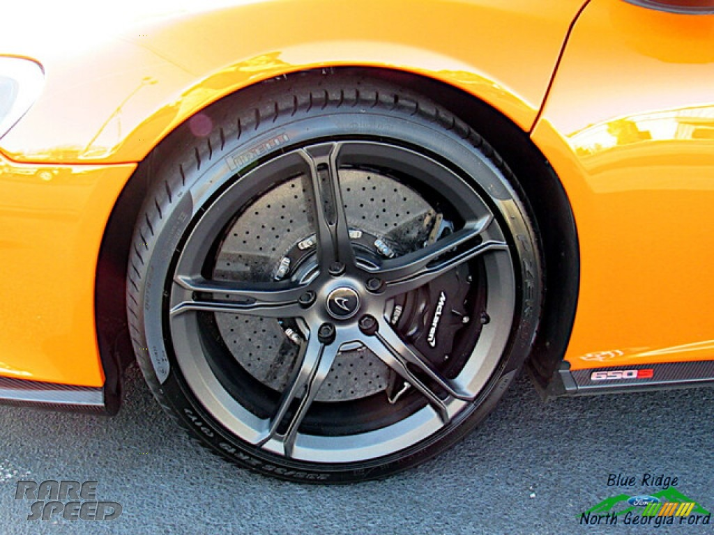 2016 650S Spider - Tarocco Orange / Carbon Black photo #10