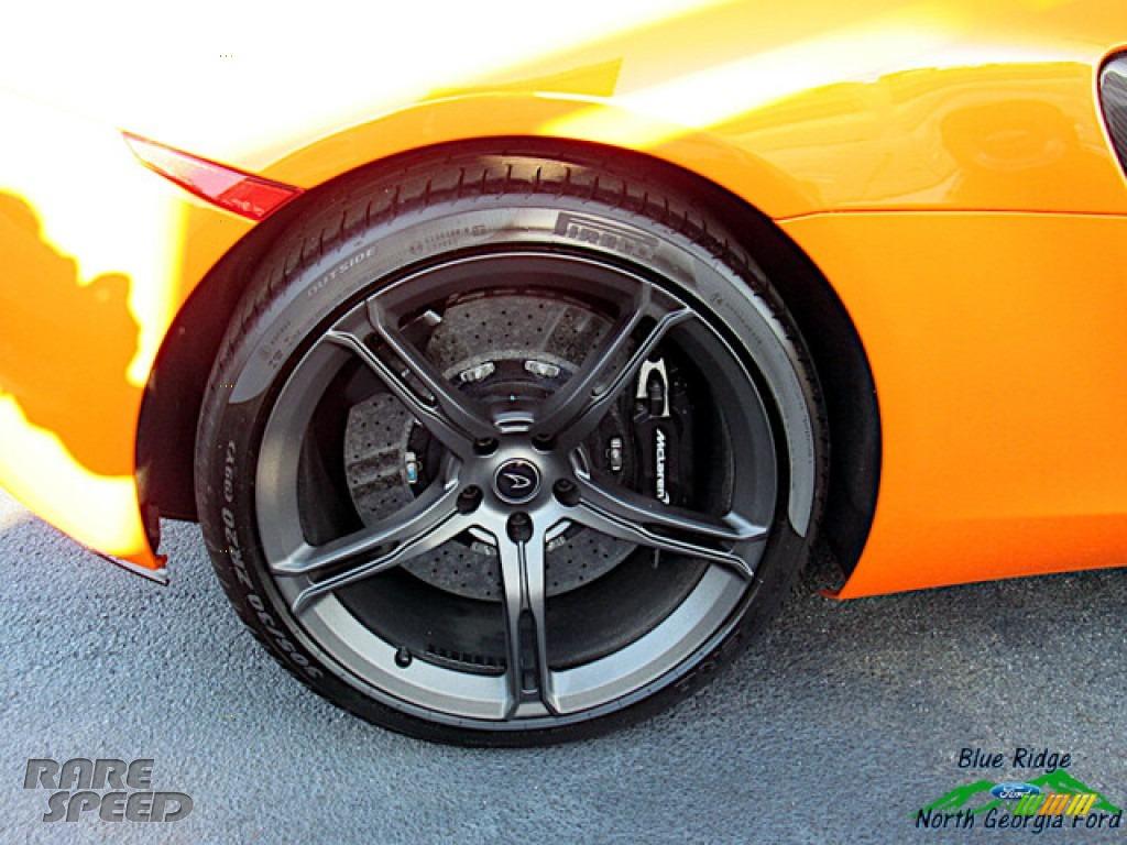 2016 650S Spider - Tarocco Orange / Carbon Black photo #12