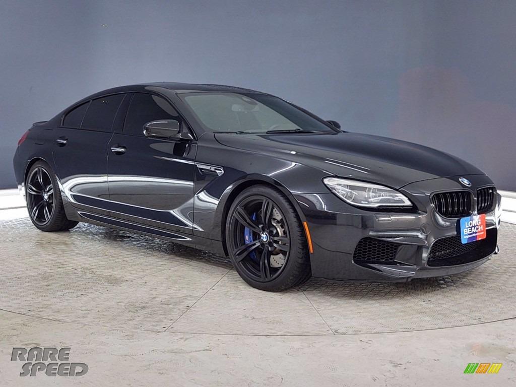 Black Sapphire Metallic / Black BMW M6 Gran Coupe