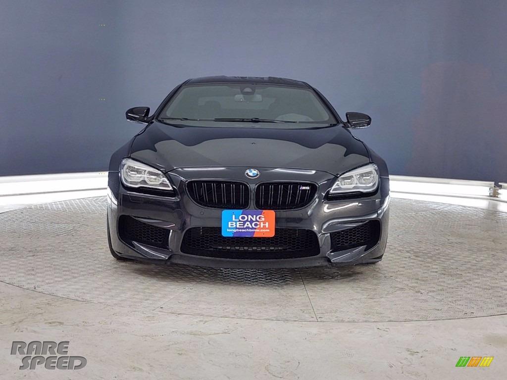 2018 M6 Gran Coupe - Black Sapphire Metallic / Black photo #2